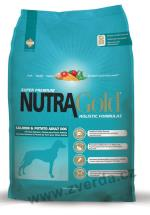 Nutra Gold Salmon and Potato Adult Dog 15kg